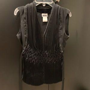 Issey Miyake designer blouse